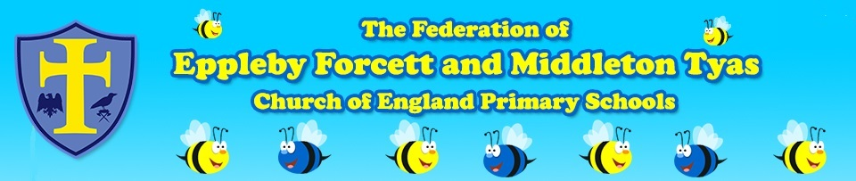Eppleby Forcett Church of England Primary School Header